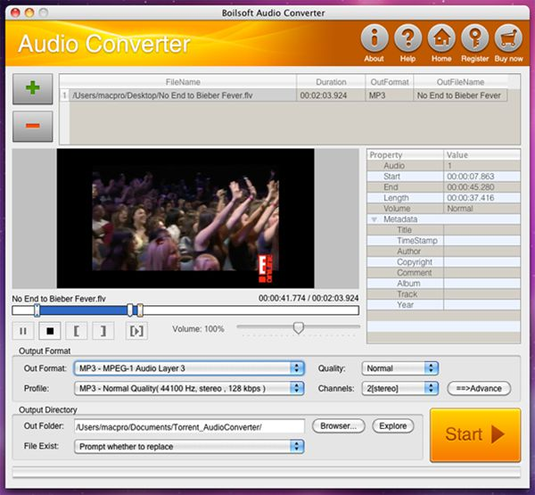 Boilsoft Audio Converter 1